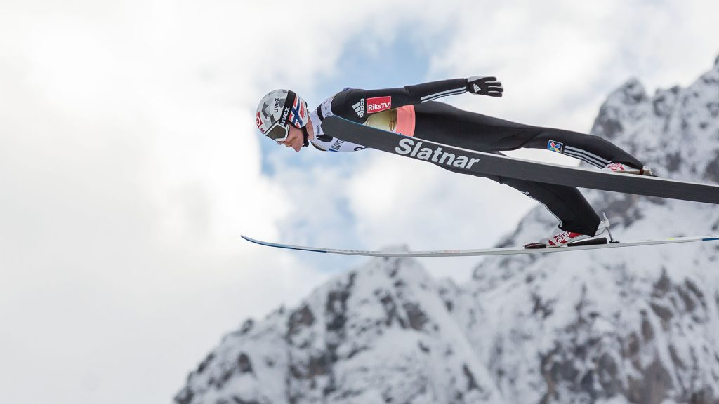 Ski Flying in Planica, Robert Johansson from Norway