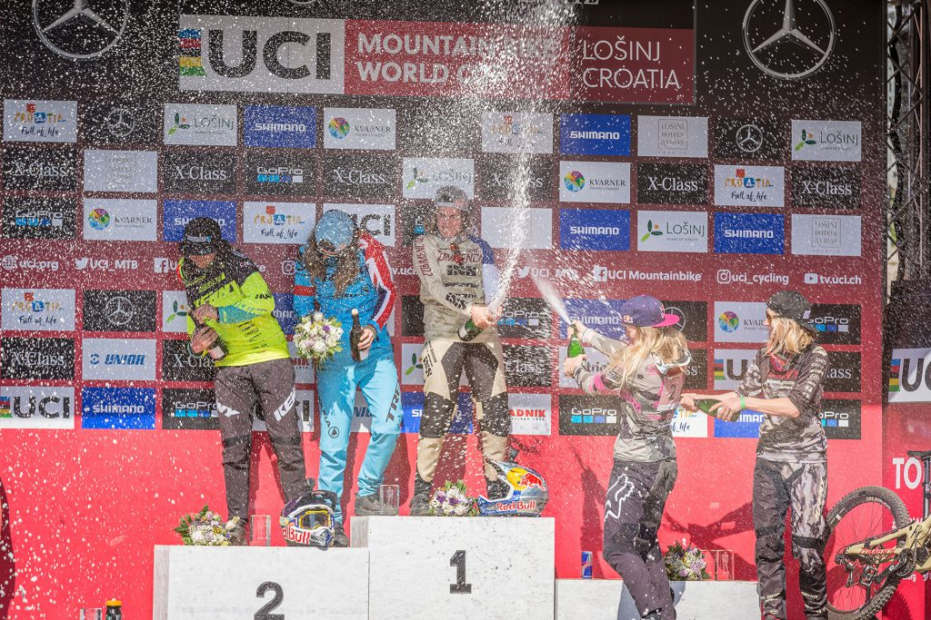 Mountain Biking, Mercedes-Benz Red Bull UCI World Cup DH, Women Elite