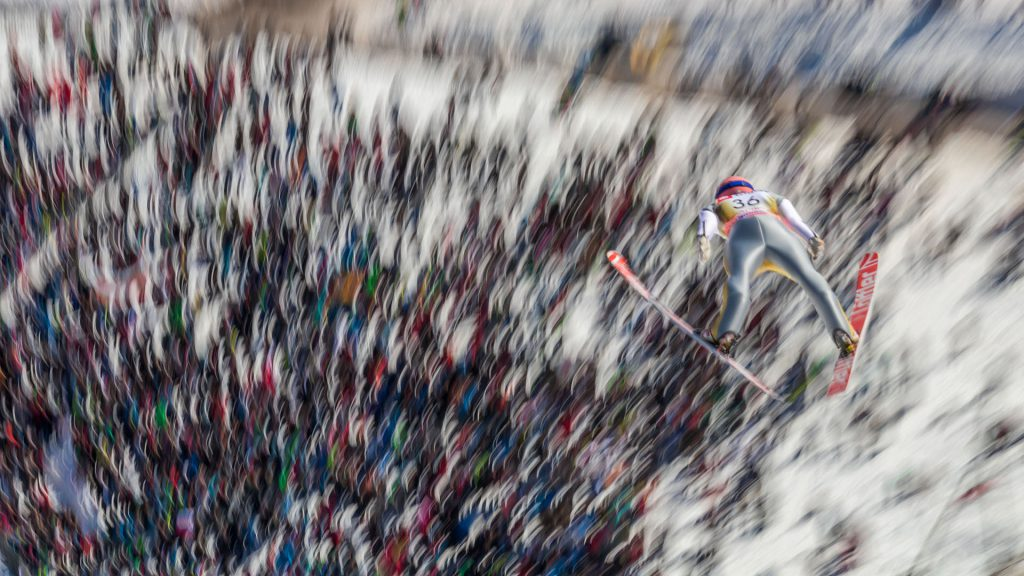 Ski Flying in Planica, Pius Paschke from Germany